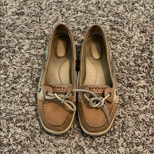 Sperry Short Tongue gently worn